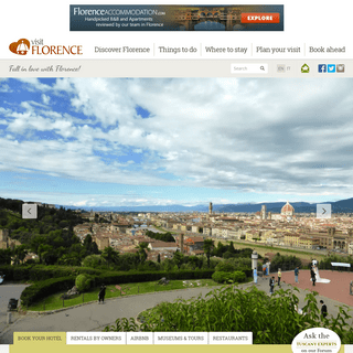ArchiveBay.com - visitflorence.com - Florence, Italy 2020 - Tourist Travel Guide for Holidays in Florence, Firenze