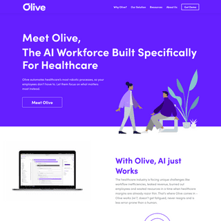 Meet Olive, Healthcare's AI Workforce - AI For Healthcare - Olive