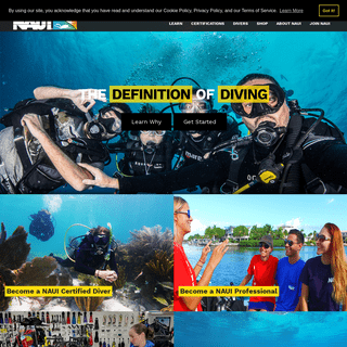 NAUI Worldwide - Best Scuba Training - Learn to Dive Today - NAUI Worldwide. Dive Safety Through Education