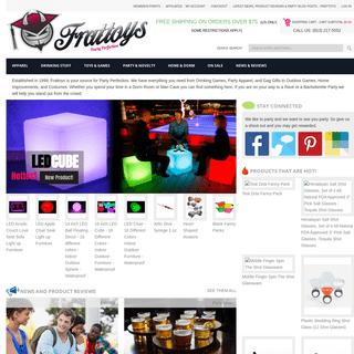 ArchiveBay.com - frattoys.com - Frat Party Supplies, Novelties, Gifts – Frattoys.com