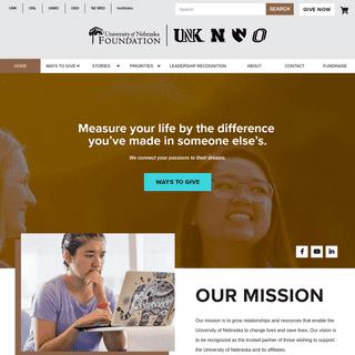 Home - University of Nebraska Foundation