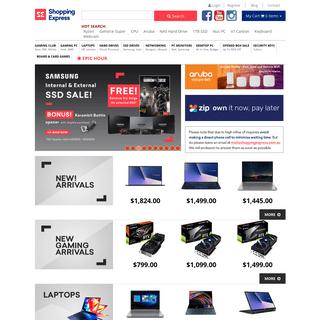 Online Computer Store – Australian Computer Shop - Shopping Express