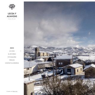 ArchiveBay.com - casarurallecea.es - Casa rural Lecea