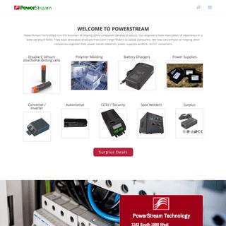 Index needs polishing - PowerStream