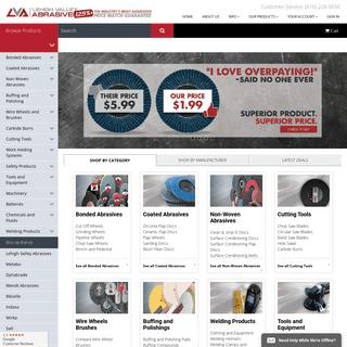 Lehigh Valley Abrasives - Flap Discs, Surface Conditioning Discs, Abrasive Sanding Discs, PSA Disc Rolls, Surface Conditioning B