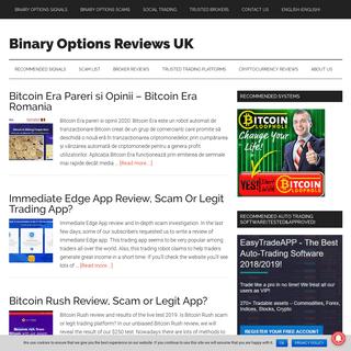 Binary Options Reviews UK - Honest Binary Options Reviews