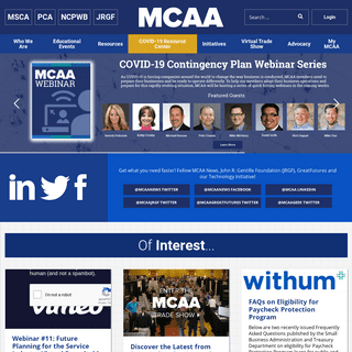 MCAA - Support and education for mechanical contractors nationwide