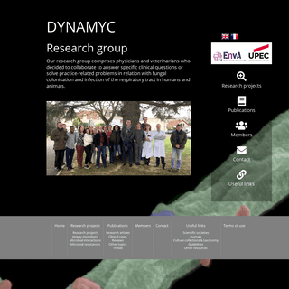 Dynamyc group - fungal infection of the respiratory tract - Aspergillosis