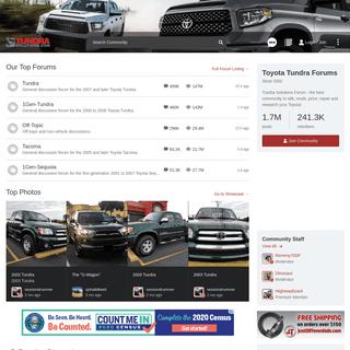 Toyota Tundra Forums