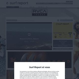 Météo surf, Océan surf report, la météo des spots de surf et photos du jour, webcams - OSR