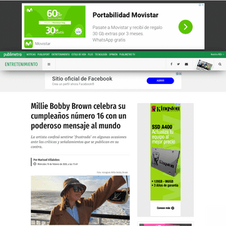 ArchiveBay.com - www.publimetro.com.mx/mx/entretenimiento/2020/02/19/millie-bobby-brown-stranger-things-cumpleanos-16.html - Millie Bobby Brown celebra su cumpleaños número 16 con un poderoso mensaje al mundo - Publimetro México