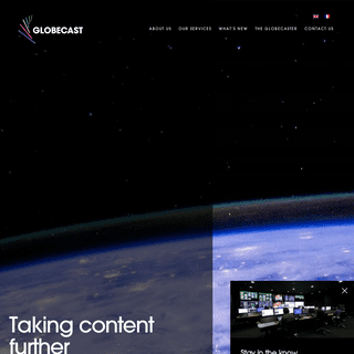 Globecast - Broadcast Services - Playout, VOD, distribution and contribution
