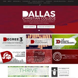 Home - Dallas Christian College