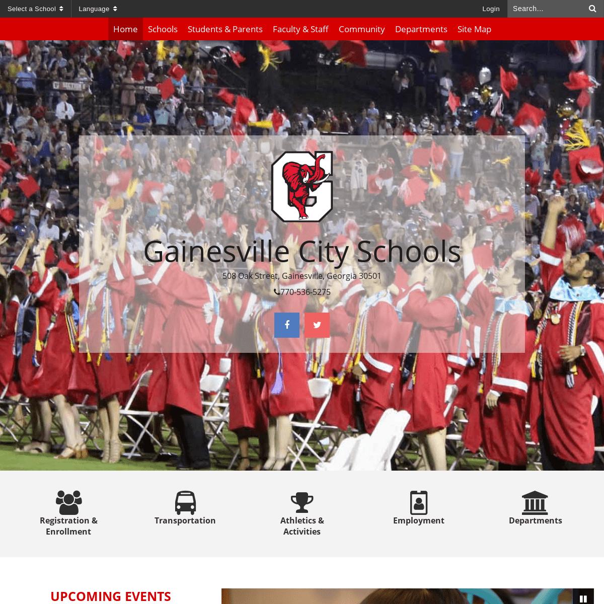 Home - Gainesville City Schools