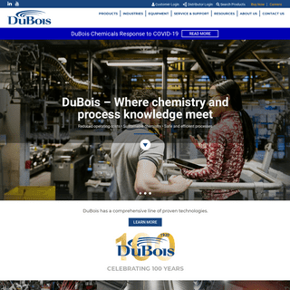 DuBois - Leading Single Source Specialty Chemicals Supplier