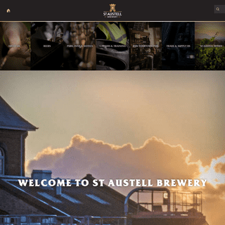 St Austell Brewery - Welcome