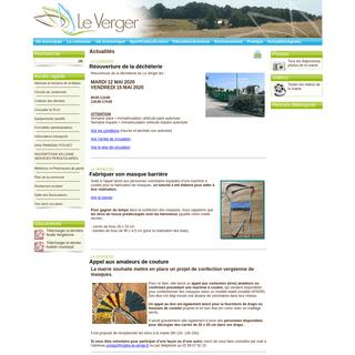 MAIRIE LE VERGER - Site officiel de la Mairie de Le Verger - Ille et Vilaine - Bretagne - France