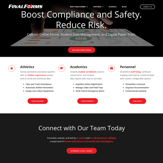 FinalForms - Boost Compliance & Safety