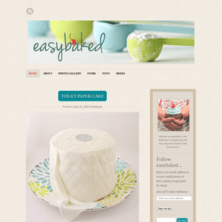 EASYBAKED - a collection of recipes