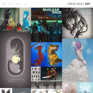 ArchiveBay.com - drewwolf.com - Drew Wolf ART