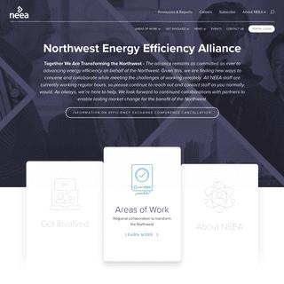 Northwest Energy Efficiency Alliance (NEEA) - NEEA is a national…