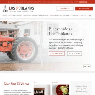 Historic Inn & Organic Farm - Los Poblanos