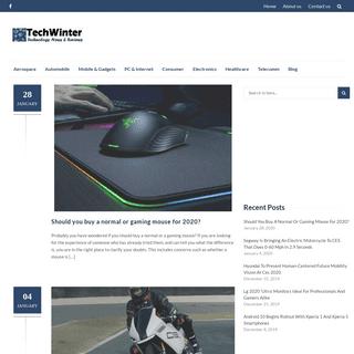 TechWinter - Technology News & Reviews