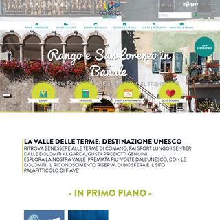 Terme di Comano - terme in Trentino, vacanze per famiglie, animazione per bambini, natura e sport, gastronomia e viaggi di grupp