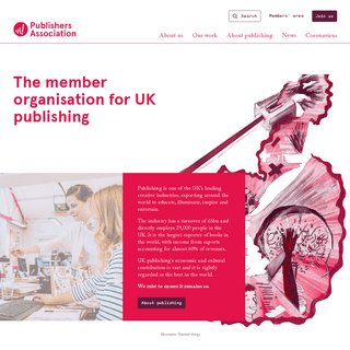 Homepage - Publishers Association
