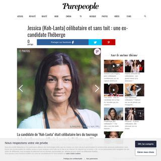 ArchiveBay.com - www.purepeople.com/article/jessica-koh-lanta-celibataire-et-sans-toit-une-ex-candidate-l-heberge_a375257/1 - Jessica (Koh-Lanta) célibataire et sans toit - une ex-candidate l'héberge - Purepeople