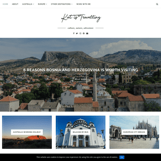 Kat is Travelling - Cultural Travel Blog