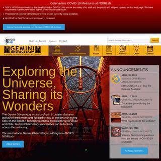 Gemini Observatory -