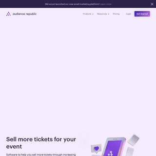 Audience Republic - Sell more tickets for your event