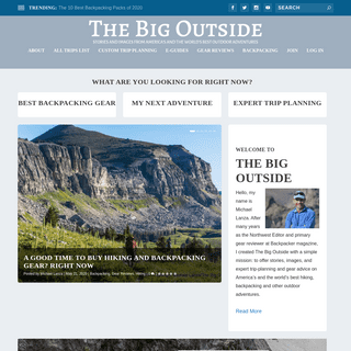 Stories and Images From America's and the World's Best Outdoor Adventures