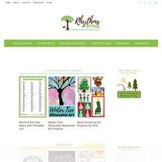ArchiveBay.com - rhythmsofplay.com - Rhythms of Play - Art, Crafts, DIY; Raising Creative Outdoor Kids