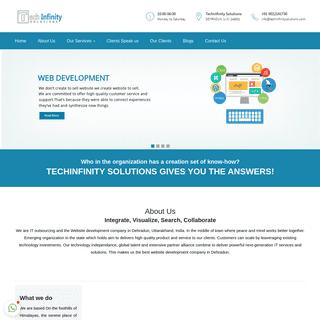 Techinfinity Solutions is the Best Web Development Company in Dehradun