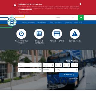 ArchiveBay.com - ridemcts.com - Ride MCTS - Milwaukee County Transit System