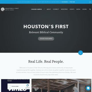 ArchiveBay.com - houstonsfirst.org - Houston's First Baptist Church