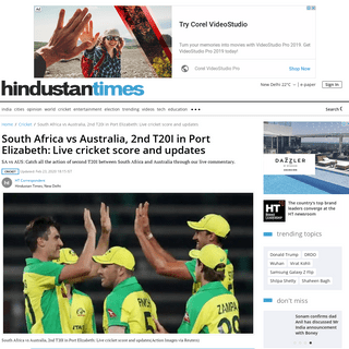 ArchiveBay.com - www.hindustantimes.com/cricket/south-africa-vs-australia-2nd-t20i-in-port-elizabeth-live-cricket-score-and-updates/story-KfmmBTLfxYCh1Xw7dEfYpI.html - South Africa vs Australia, 2nd T20I in Port Elizabeth-Live cricket score and updates - cricket - Hindustan Times