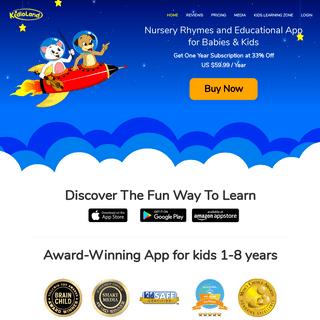 Nursery Rhymes App for Babies and Children - Best Educational App for Kids - Kidloland.com