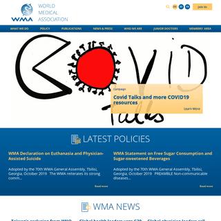 WMA – The World Medical Association – The World Medical Association