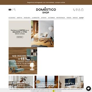 DomésticoShop - Muebles, Diseño y Decoración