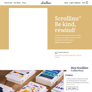 ArchiveBay.com - scrollino.com - Scrollino- Please be kind, rewind! – Scrollino®