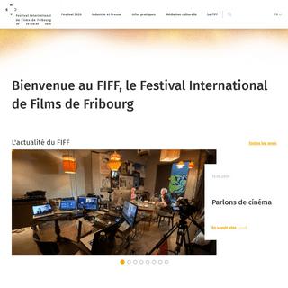 Bienvenue au FIFF, le Festival International de Films de Fribourg - Festival International de Films de Fribourg