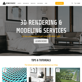 Rendernode - Design Services for Creative Professionals