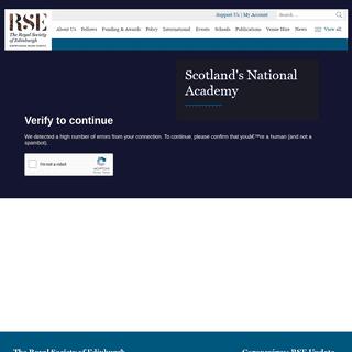 ArchiveBay.com - rse.org.uk - Home - The Royal Society of Edinburgh