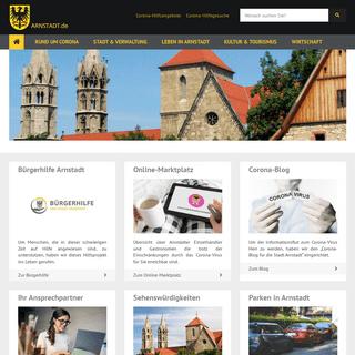 Startseite - Stadt Arnstadt