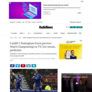 ArchiveBay.com - www.radiotimes.com/news/sport/2020-02-25/cardiff-nottingham-forest-championship/ - Cardiff v Nottingham Forest- Watch on TV, channel, live stream, prediction - Radio Times