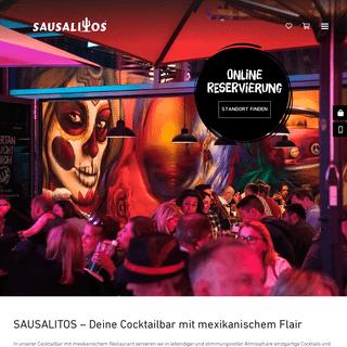 SAUSALITOS - Cocktailbar, Bar, Club & mexikanisches Restaurant