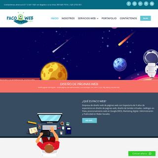 Diseño de Páginas Web Profesionales - Diseño páginas web Bogotá